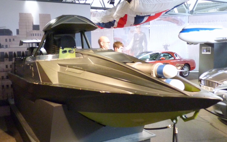 James Bond Boat The Driven Blog