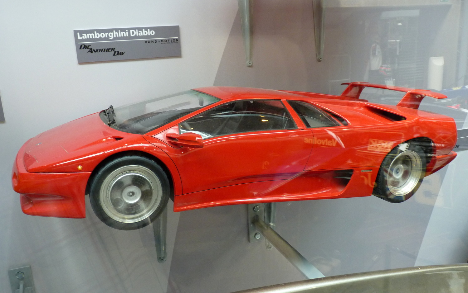 james bond lamborghini diablo stunt miniature the driven blog. Black Bedroom Furniture Sets. Home Design Ideas