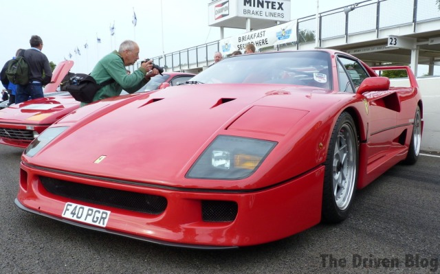Ferrari F40 Goodwood Breakfast Club