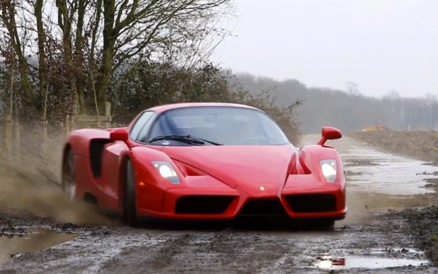 Tax the rich 100 Ferrari Enzo rally wrc video