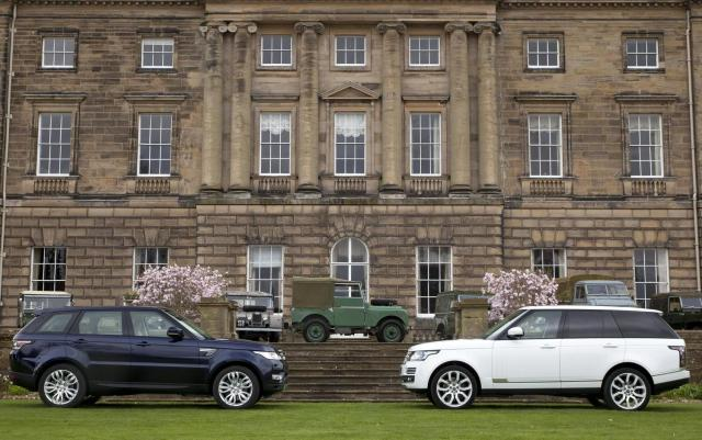 Range Rover and Range Rover Sport 65th anniversary