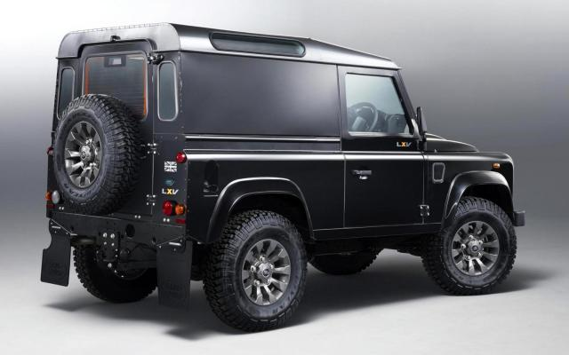 Land Rover LXV Defender rear