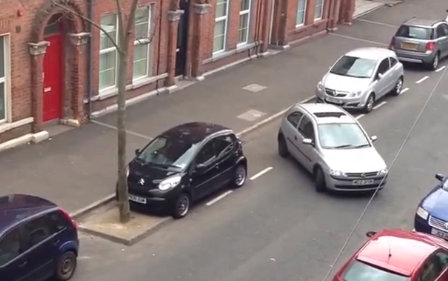 World's worst attempt at parallel parking video Belfast