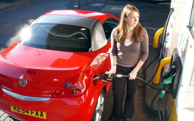 petrol pump fuel station