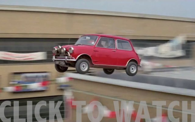 The Italian Job car chase