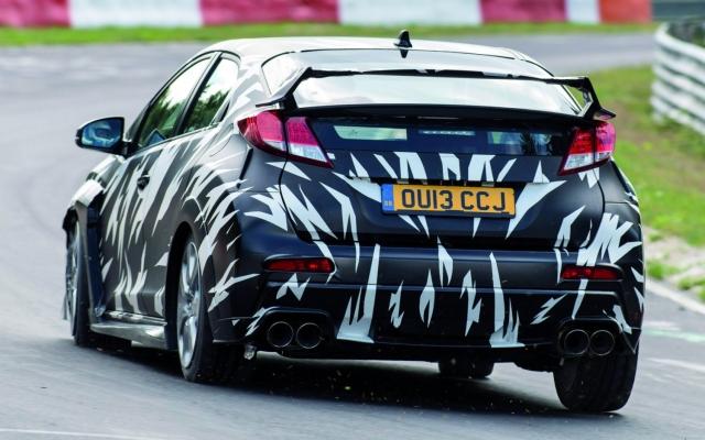 Honda Civic Type-R 2015 Test Mule