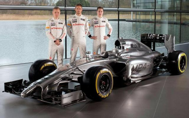 McLaren Mercedes MP4-29 2014 F1 Car