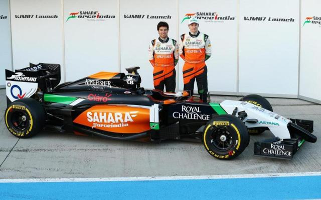 Force India VJM07 2014 F1 Car