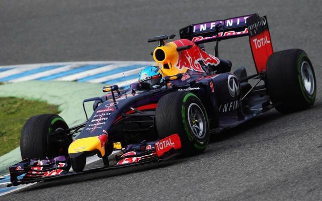 Red Bull RB10 2014 F1 car