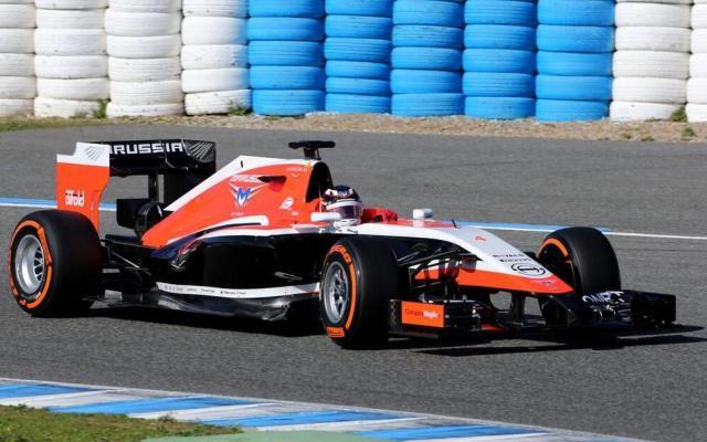 Marussia MR03 2014 F1 Car