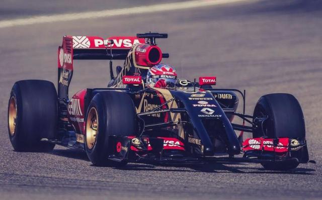 Lotus E22 2014 F1 Car