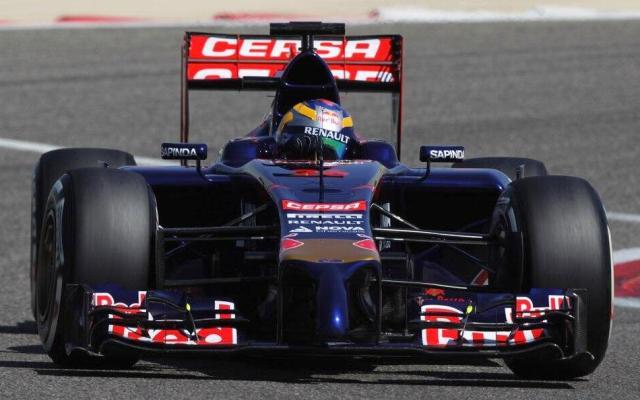 Toro Rosso STR9 2014 F1 Car