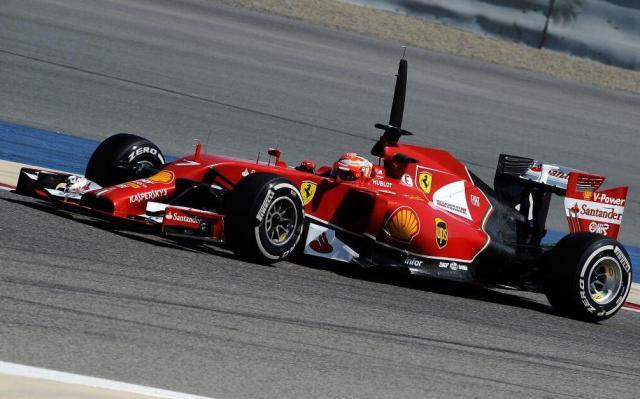 Ferrari F14T 2014 F1 Car