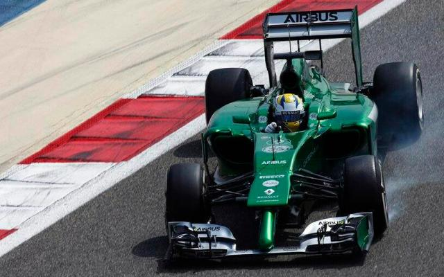 Caterham CT05 2014 F1 Car