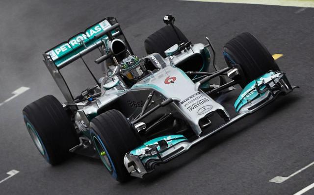 Mercedes W05 2014 F1 Car