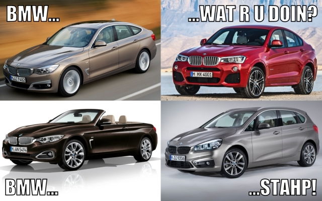 BMW Meme wat r u doin stahp