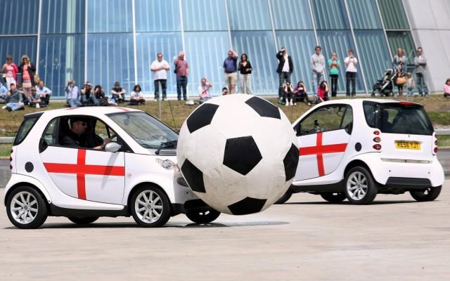 Car football Smart ForTwo