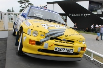 Ford Escort Cosworth Rally Goodwood Festival of Speed 2014