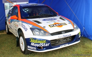 McRae Ford Focus WRC Goodwood Festival of Speed 2014