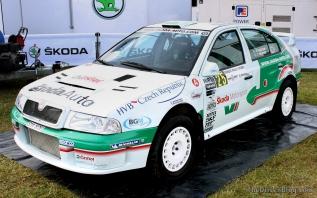 Skoda Octavia vRS WRC Goodwood Festival of Speed 2014