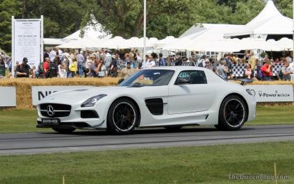 Mercedes SLS Black Goodwood Festival of Speed 2014
