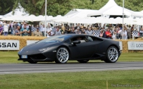 Lamborghini Huracan Goodwood Festival of Speed 2014
