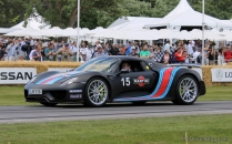 Porsche 918 Martini Goodwood Festival of Speed 2014