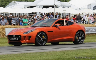 Jaguar F-Type coupe Goodwood Festival of Speed 2014
