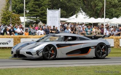 Koenigsegg One:1 Goodwood Festival of Speed 2014