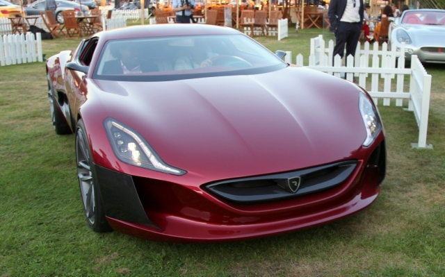 Rimac Concept_One Electric Croatian car