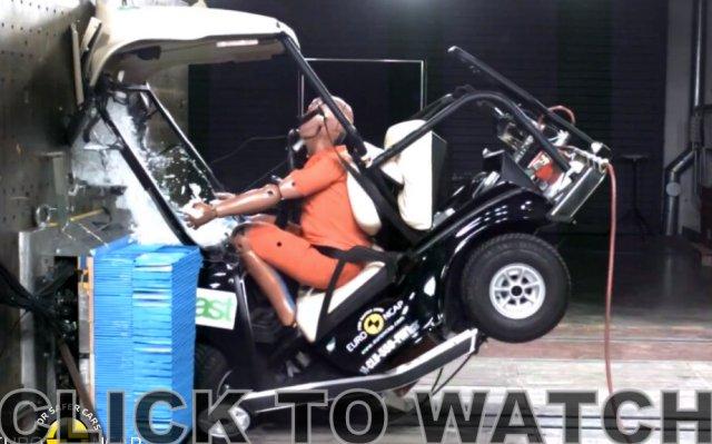 Villager Club Car NCAP crash test