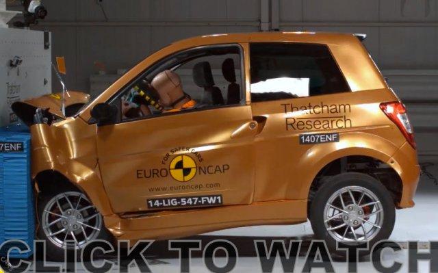 Ligier NCAP crash test