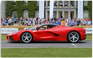 Ferrari LaFerrari canvas print poster the driven blog
