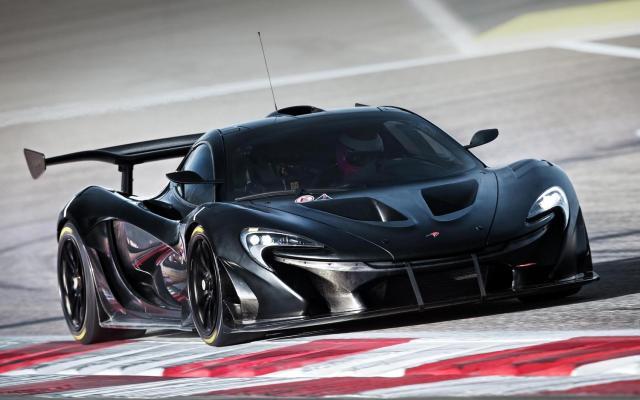 McLaren P1 GTR TEST MULE