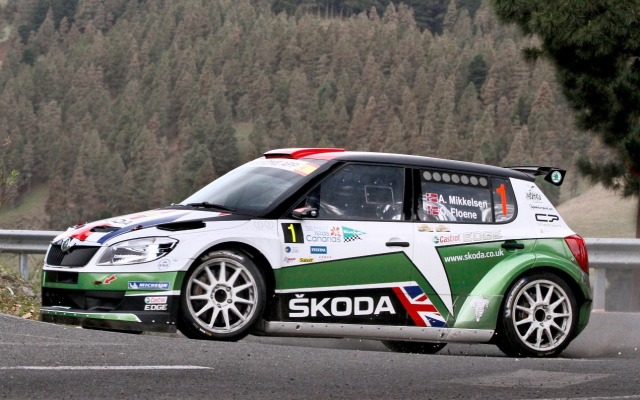 INTERNATIONAL RALLY CHALLENGE 2012 Skoda Fabia
