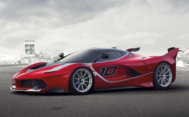 Ferrari LaFerrari FXX K track