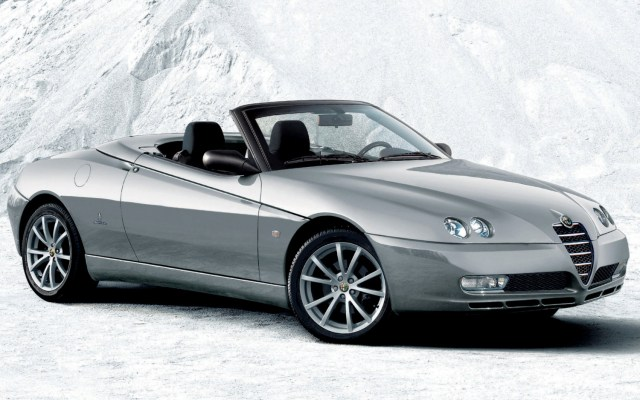 Alfa Romeo Spider - Top 10 convertibles under £5k