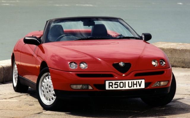Alfa Romeo Spider GTV convertible
