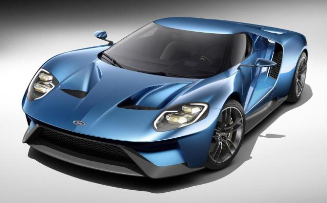2016 Ford GT front