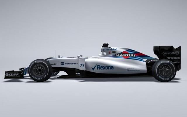 2015 Williams Martini F1 FW37 car