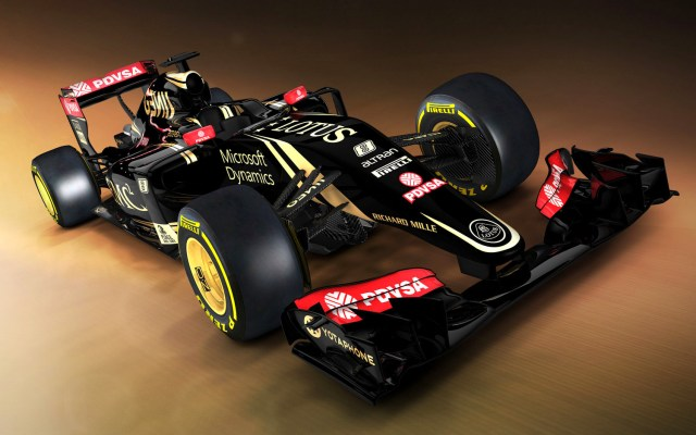 Lotus E23 2015 F1 car