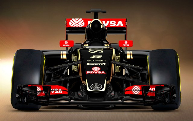 Lotus F1 Race Car 2015 E23