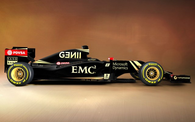 Lotus E23 2015 F1 Racing Car