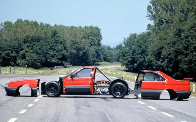Alfa Romeo 164 Pro-Car racing car