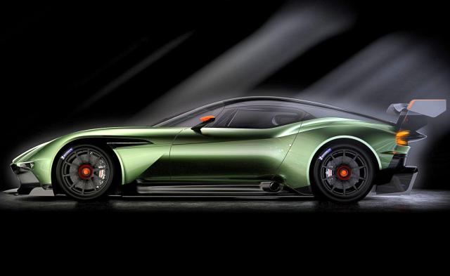 Aston Martin Vulcan side profile