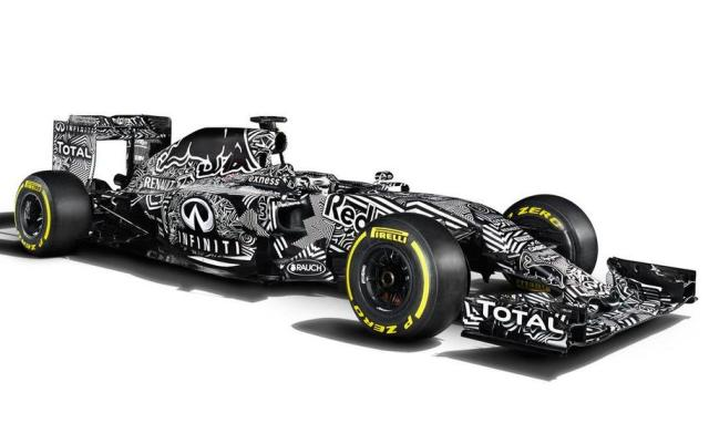 Red Bull RB11 Testing camouflage livery