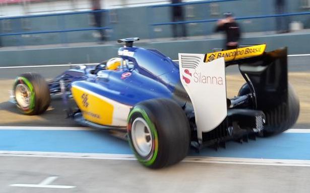 Sauber C34 2015 F1 testing Jerez