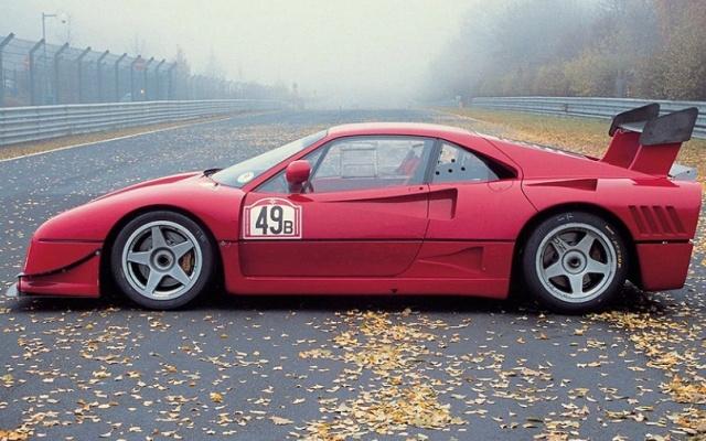 Ferrari 288 GTO Evoluzione Group B
