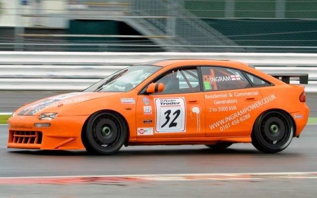 Mazda 323F BTCC racing car