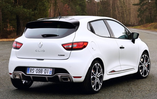 Renault Clio Trophy 220 RS Rear